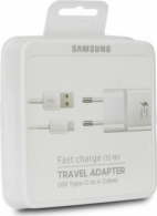 SAMSUNG EP-TA20EWECGWW Wall charger 2A Fast (+Type C Cable), blister