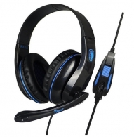 SADES SA-701BL Gaming headset (Tpower) - Blue