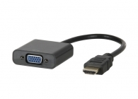 OEM CVT-125 Μετατροπέας HDMI to VGA (black or white color)