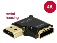 DELOCK 65660 HDMI Αντάπτορας HDMI-A female σε male, High Speed, 90°, left