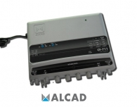 ALCAD CF-711 Extension amplifier 1 In /1 Out, UHF/VHF/BS, RP G=47 dB, TV G=10 dB