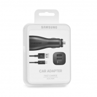 SAMSUNG EP-LN920BB Car charger 2A (Dual port) +cable, blister