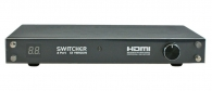 Powertech SW-H41 HDMI video switch από 4to1 with Remote Control