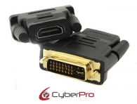 CYBERPRO CP-DH01 Αντάπτορας DVI-I (DL) Male - HDMI Female