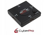 CyberPro CP-HSW3 HDMI Swich 3 in - 1 out (auto function)